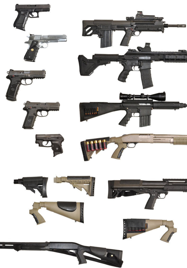 AR15 grips and other tactical weapon grips