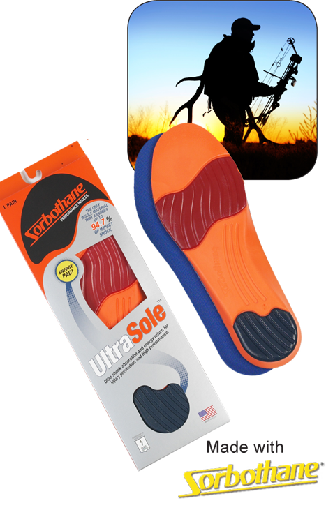 Insoles for Outdoorsmen