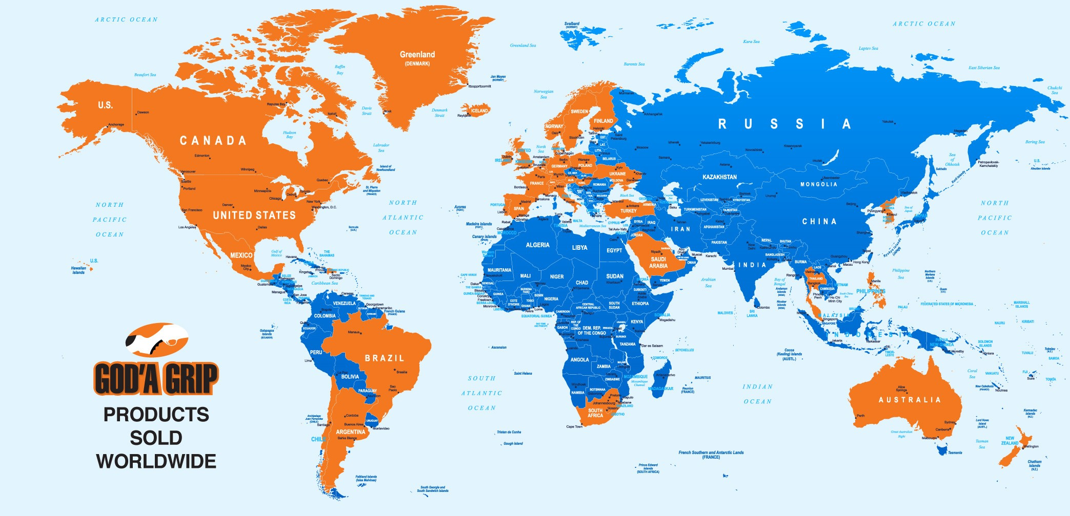 God'A grip Map